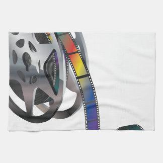 Movie Reel Hand Towel