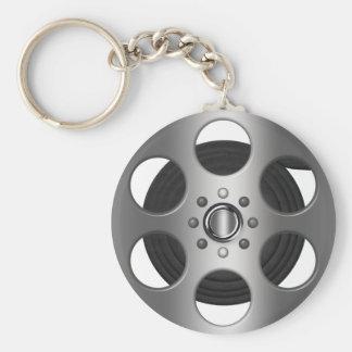 Movie Reel Keychain
