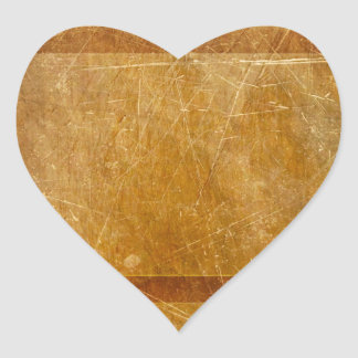 MOVIE REEL OLD-FASHIONED GRUNGE GOLD BACKGROUND DI HEART STICKERS
