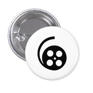 Movie Reel Pictogram Button