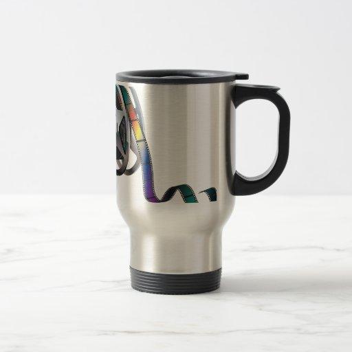Movie Reel Travel Mug