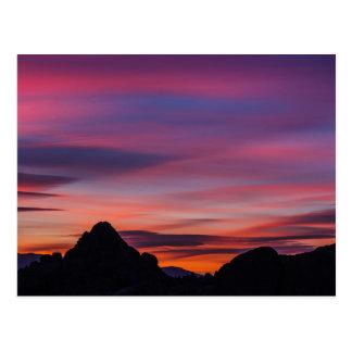 Movie Road Sunrise Postcard