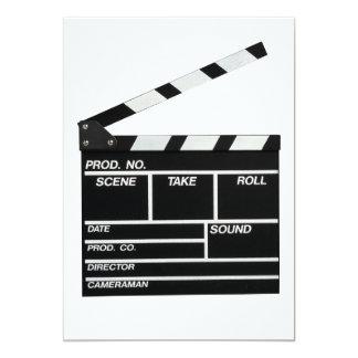 Movie Shoot Card