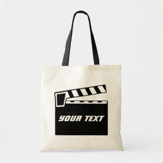 Movie Slate Clapperboard Board Canvas Bag