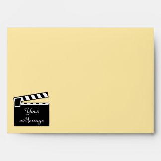 Movie Slate Clapperboard Board Envelope