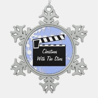 Movie Slate Clapperboard Board Ornaments
