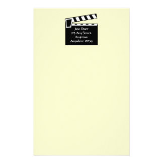 Movie Slate Clapperboard Board Stationery
