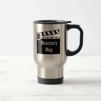 Movie Slate Clapperboard Board Travel Mug