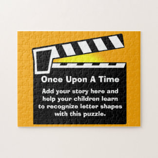 Movie Slate Clapperboard Childrens Puzzle