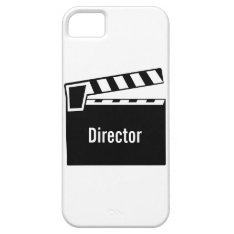 Movie Slate Clapperboard Iphone Se/5/5s Case at Zazzle