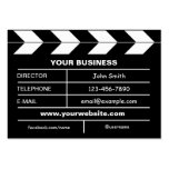 Movie Slate Pack Of Chubby Business Cards