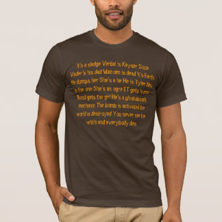 Movie Spoilers T-Shirt