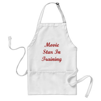 Movie Star In Training Adult Apron