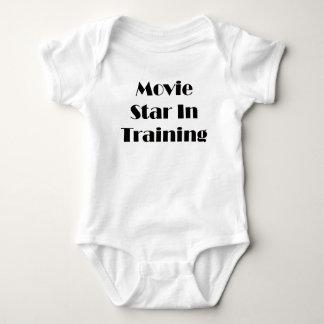 Movie Star In Training Baby Bodysuit