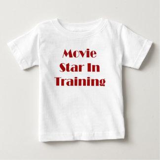 Movie Star In Training Baby T-Shirt