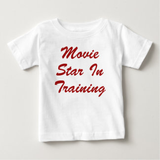 Movie Star In Training Infant T-shirt
