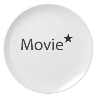 Movie Star Plates