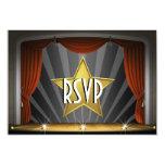 Movie Star RSVP Card