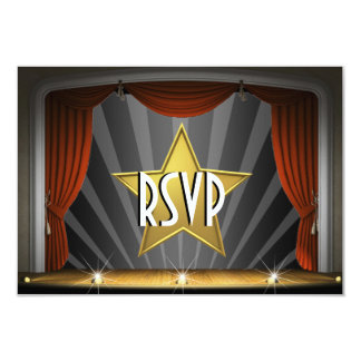Movie Star RSVP Card