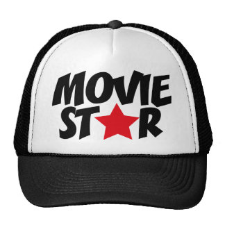 movie star trucker hat