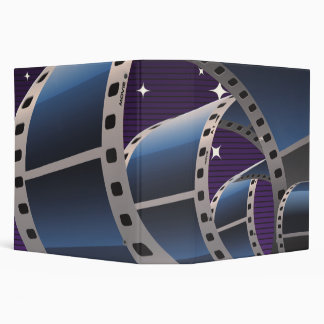 Movie Strip 3 Ring Binder