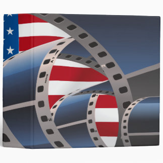 Movie Strip 3 Ring Binder
