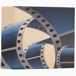 Movie Strip Vinyl Binders