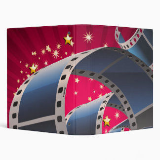 Movie Strip Vinyl Binder