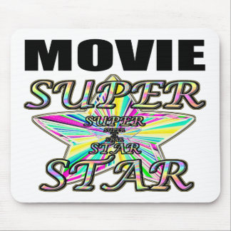 Movie Superstar Mouse Pad