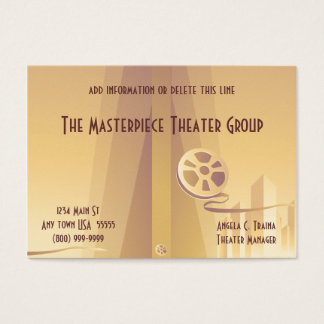 Movie Theater Business Cards