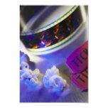 Movie Theater Film, Popcorn & Tickets Custom Invites