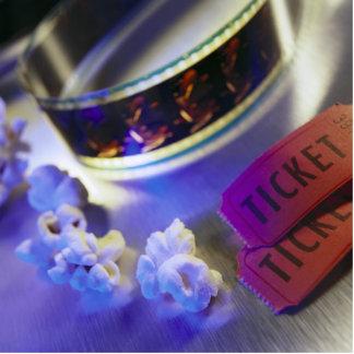 Movie Theater Film, Popcorn & Tickets Statuette