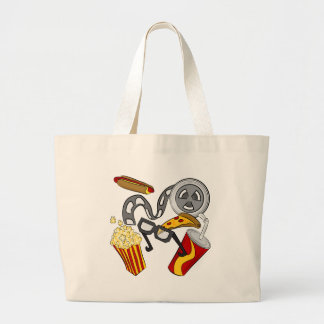 Movie Theater Objects Jumbo Tote Bag