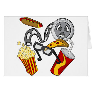 Movie Theater Objects Card