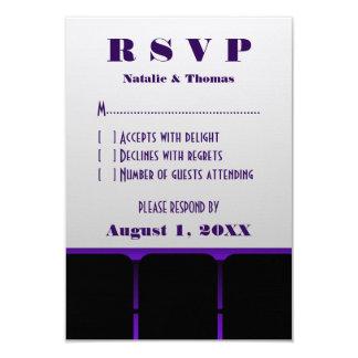 Movie Theater Response Card, Purple Card
