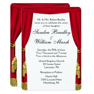 Movie Theme  Wedding Invitation