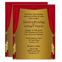 Movie Theme  Wedding Invitation 4.25 x 5.5