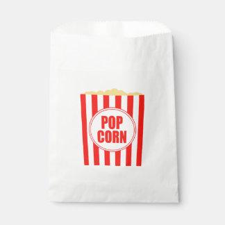 Movie Themed Popcorn Design Favor Bag