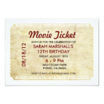 Movie Ticket Announcements