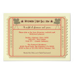 """Movie Ticket Award Ceremony Party Invitation 5"""" X 7"""" Invitation Card"""
