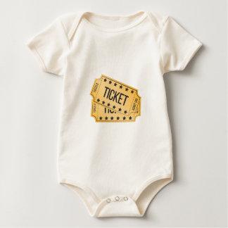 Movie Ticket Baby Bodysuit
