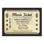 Movie Ticket Invite