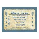 Movie Ticket Invites