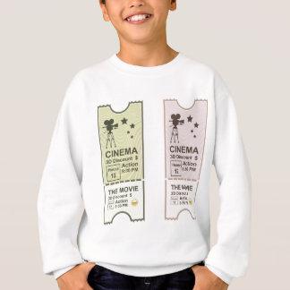 Movie Ticket Sweatshirt