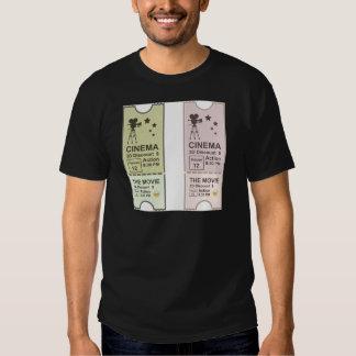 Movie Ticket T Shirt