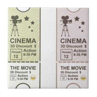 Movie Ticket Tile