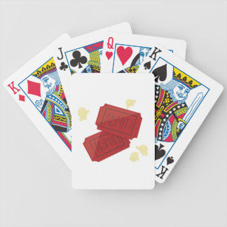 Movie Tickets Bicycle Playing Cards