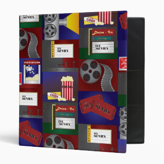 Movie Time 3 Ring Binder