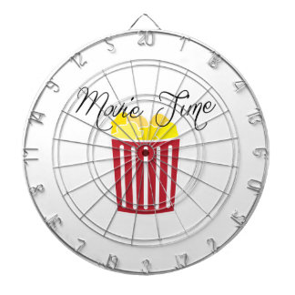 Movie Time Dart Board