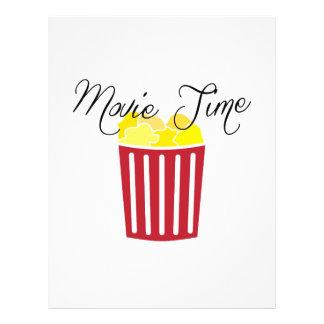 Movie Time Letterhead